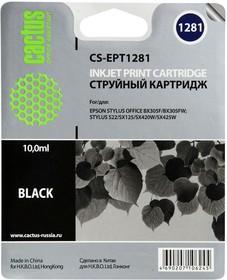 Картридж CACTUS CS-EPT1281 черный