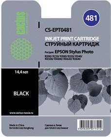 Картридж CACTUS CS-EPT0481 черный