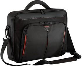 """Сумка для ноутбука 15.6"""" TARGUS CN415EU-50, черный/красный"""