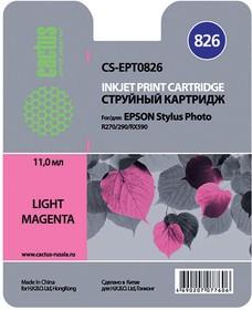 Картридж CACTUS CS-EPT0826 светло-пурпурный