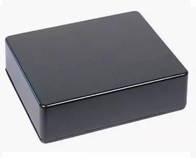 B023BK, Корпус для РЭА 120x100x35мм, металл, черный | купить в розницу и оптом
