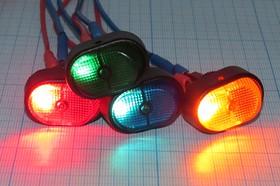 Фото 1/4 Клавишный выключатель зелёный,с подсветкой 12В/30А, c фиксацией, 2095 ПКл\ 3T\30А12В\ON-OFF\ d12,2\ILзел\R13-133B