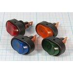Фото 2/4 Клавишный выключатель зелёный,с подсветкой 12В/30А, c фиксацией, 2095 ПКл\ 3T\30А12В\ON-OFF\ d12,2\ILзел\R13-133B