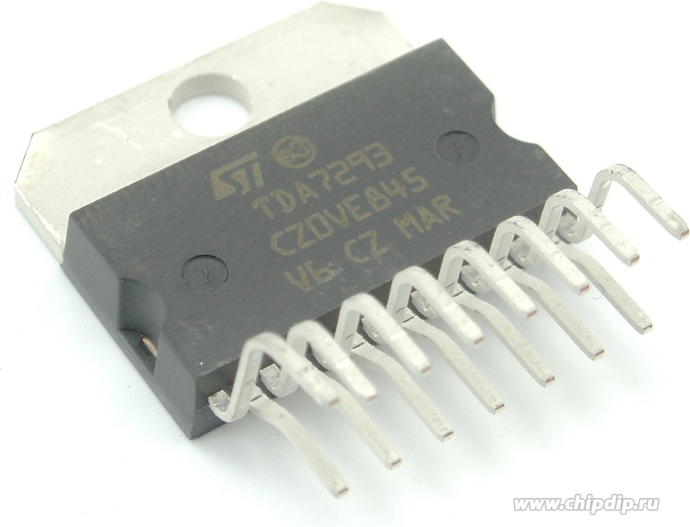 усилитель на TDA7293 с транзисторами - Продвинутая схемотехника.