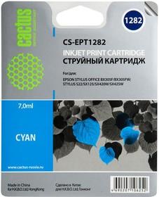 Картридж CACTUS CS-EPT1282 голубой
