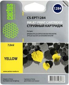 Картридж CACTUS CS-EPT1284 желтый