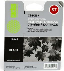 Картридж CACTUS CS-PG37 черный