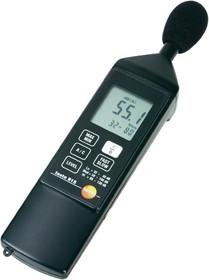 testo 815, Измеритель уровня шума (шумомер) 2-го класса точности, с микрофоном и ветрозащитой