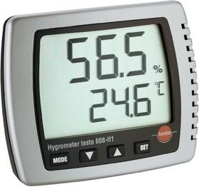 Фото 1/3 Testo 608-H1, Термогигрометр для измерения влажности/температуры/ температуры точки росы (Госреестр РФ)