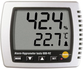 Фото 1/2 testo 608-H2, Термогигрометр для измерения влажности/температуры/ температуры точки росы