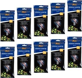 Влажные салфетки для рук с маслом оливы, 300 шт. (10*30 шт/упак)