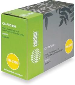 Картридж CACTUS CS-PH3300 106R01412, черный