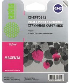 Картридж CACTUS CS-EPT0543 пурпурный