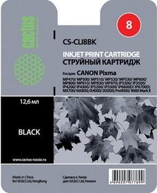 Картридж CACTUS CS-CLI8BK черный