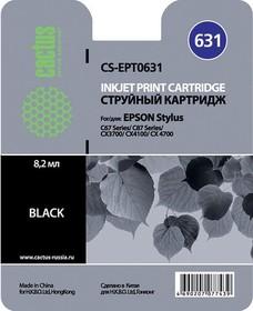 Картридж CACTUS CS-EPT0631 черный