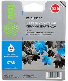 Картридж CACTUS CS-CLI526С голубой