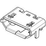 Фото 3/3 1050171001, Conn Micro USB 2.0 Type B RCP 5 POS 0.65mm Solder RA SMD 5 Terminal 1 Port T/R