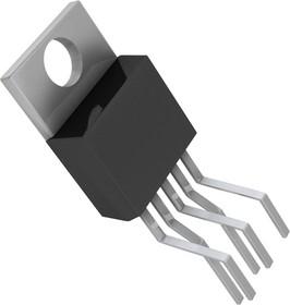Фото 1/3 LM2596T-ADJ/NOPB, Импульсный понижающий регулятор напряжения с регулировкой выхода, 3А, 150кГц, 1.2В…37В [TO-220-5]