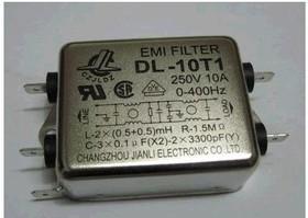 DL-10T1, 10 А, Сетевой фильтр