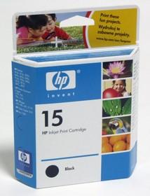 Картридж HP №15 C6615DE, черный