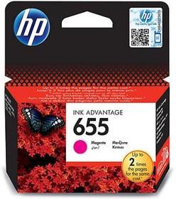 Картридж HP 655 CZ111AE, пурпурный