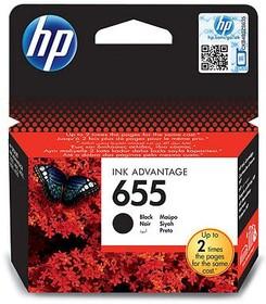 Картридж HP 655 CZ109AE, черный