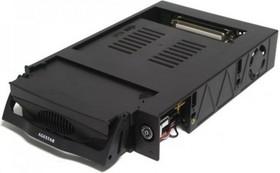 Mobile rack (салазки) для HDD AGESTAR MR3-SATA(S)-1F, черный