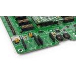 Фото 4/9 MIKROE-1770, EasyFT90x v7 Development System, Полнофункциональная отладочная плата для изучения МК FTDI 32-бит FT900