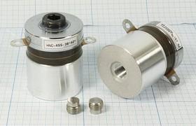 Ультразвуковой излучатель для систем отмывки 165кГц/60Вт, конст УП\Преобр\165к\ 80Вт\40x56\ HNC-4SS-38160Y\