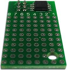 SEM0016M-45V, Программируемый модуль на базе микроконтроллера ATTINY45V-10SU