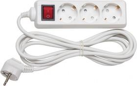 Удлинитель Navigator 94 194 NPE-S-03-1000-ESC-3x1 с/з с выкл. 3 гн. 10м