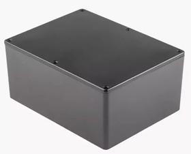 Фото 1/2 BS33BK, Корпус для РЭА 165x127x75мм, металл, герметичный, черный