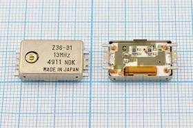 Термокомпенсированный кварцевый генератор 13МГц, 5ppm/-10~+60C, гк 13000 \TCXO\SMD210120M6\ SIN\5В\Z38-B1\NDK