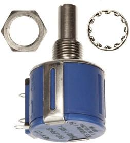 Фото 1/4 3540S-1-102L, 1 кОм, Резистор прецизионный многооборотный