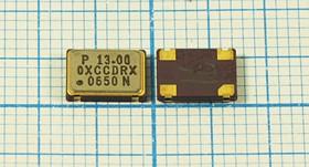 Кварцевый генератор 13МГц 3.3В, HCMOS/TTL в корпусе SMD 7x5мм, гк 13000 \\SMD07050C4\T/CM\ 3,3В\OC7E13000XCCDRX\