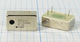 Термокомпенсированный кварцевый генератор 14.7456МГц, 2.5ppm/-30~+75C, гк 14745,6 \TCXO\24x14x8\ \\TCO-21AX\