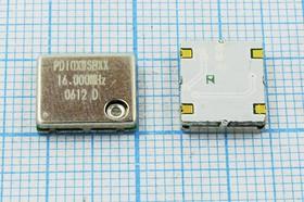 Термокомпенсированный кварцевый генератор 16МГц, 1.5ppm/-20~+70C, гк 16000 \TCXO\SMD11496C4\SIN\ 5В\TC3216000XWSBXX\