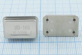 Кварцевый генератор 16МГц 3.3В, HCMOS/TTL в корпусе FULL=DIL14, гк 16000 \\FULL\T/CM\3,3В\ MO-16B-S\MEC