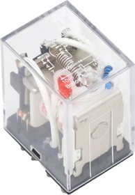 Промежуточное реле MY3 24В DC с инд, 3 конт, 5А (ANDELI)