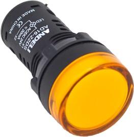 Лампа AD16-22D(LED)матрица d22мм желтый 220В AC (ANDELI)