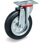 Колесо Tellure Rota 534908 поворотное, диаметр 250мм, грузоподъемность 300кг ...