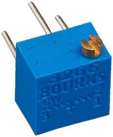 Фото 1/2 3266P-1-503, 50 кОм, Резистор подстроечный
