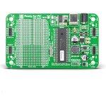 MIKROE-766, Ready for PIC Board, Макетная плата с установленным мк PIC18F45K22