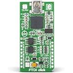 MIKROE-1421, FTDI click, Конвертер USB - UART/I2C/SPI