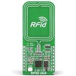 MIKROE-1434, RFid click, Приемопередатчик RFid 13.56 МГц форм-фактора mikroBUS