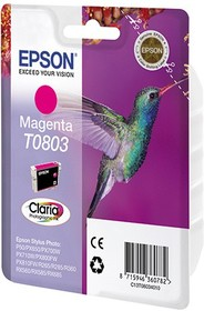 Картридж EPSON T0803 пурпурный [c13t08034011]