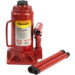 50336, Домкрат гидравлический бутылочный, 12 т, h подъема 205-400 мм, Compact