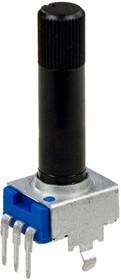 R-0904N-A100K (РП1-74), L25KQ 100 кОм, Резистор переменный