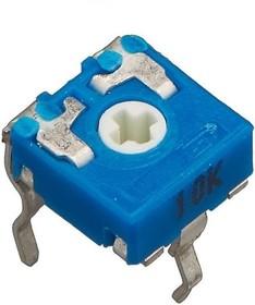 CA6V, 100 Ом, Резистор подстроечный