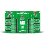 MIKROE-1481, STM32F4 Discovery Shield, Плата расширения для STM32F407G-DISC1